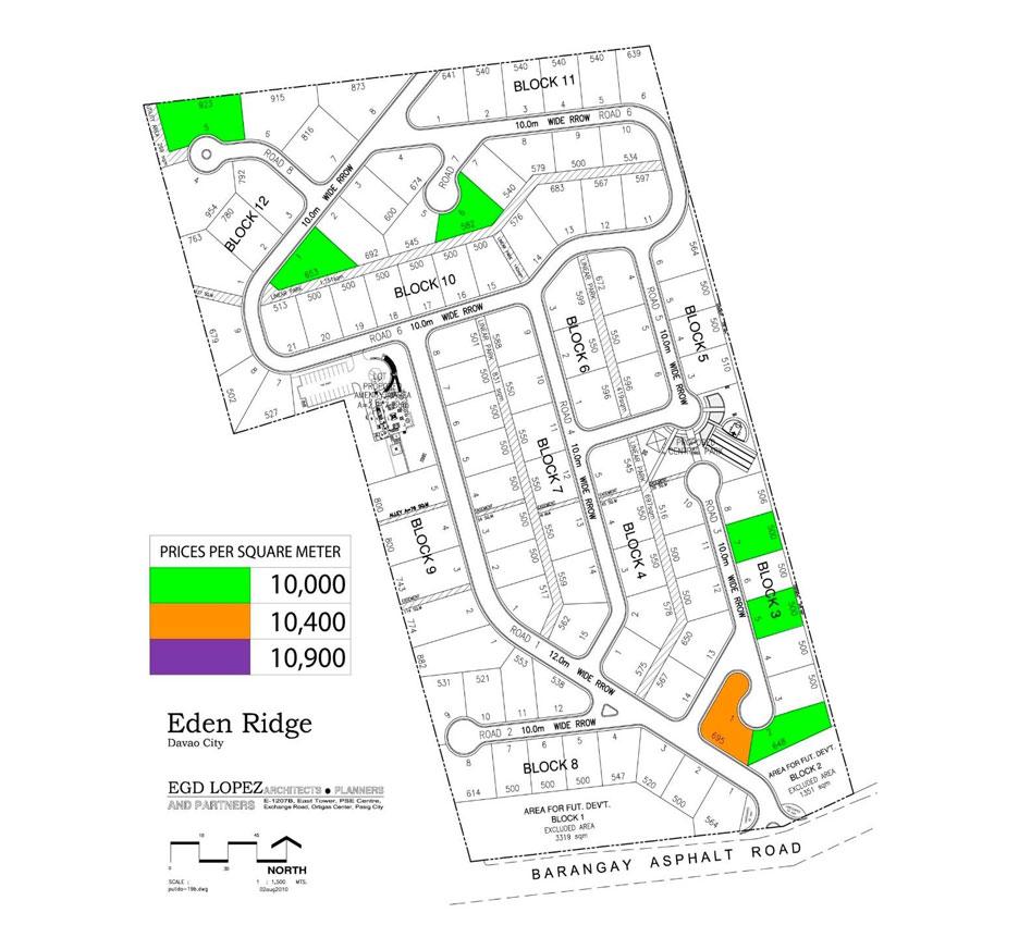 Alsons Properties - Eden Ridge Map