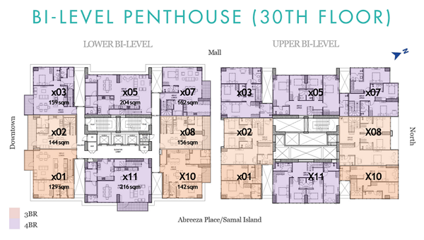 Patio Suite Tower 1 & 2 Floor Plan