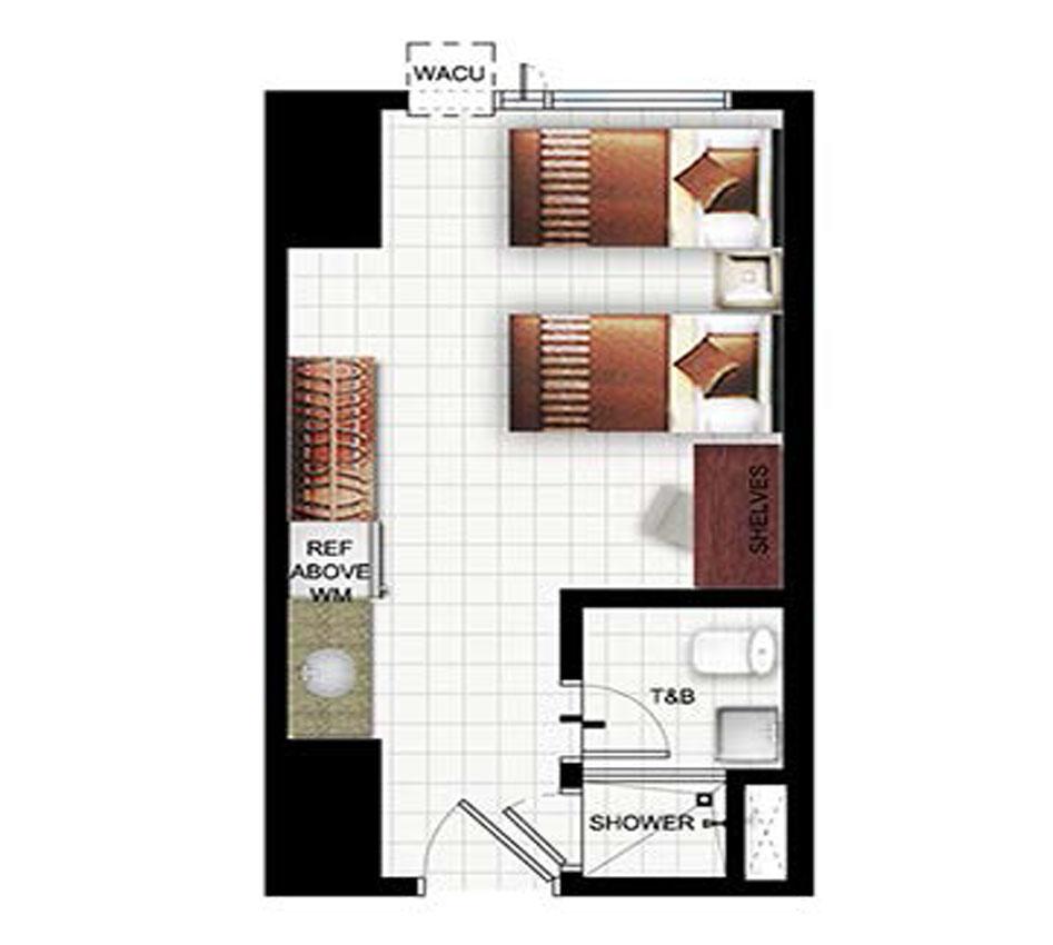 Peaklane-2 Tower 28-Storey Residential Condominium Map